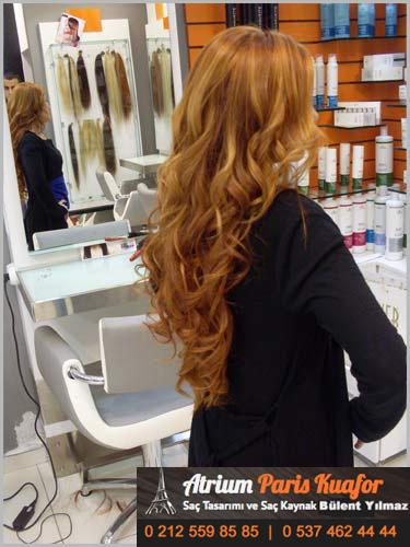 saç uzatma işlemi